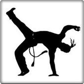 capoeira martial movement icon