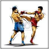 muay thai movement icon