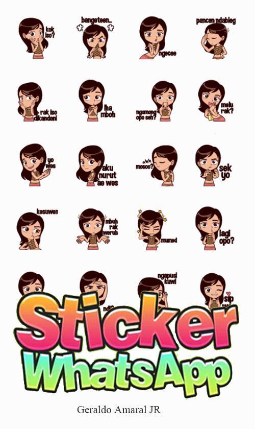 Sticker Bahasa Jawa Untuk Whatsapp Wasticker For Android
