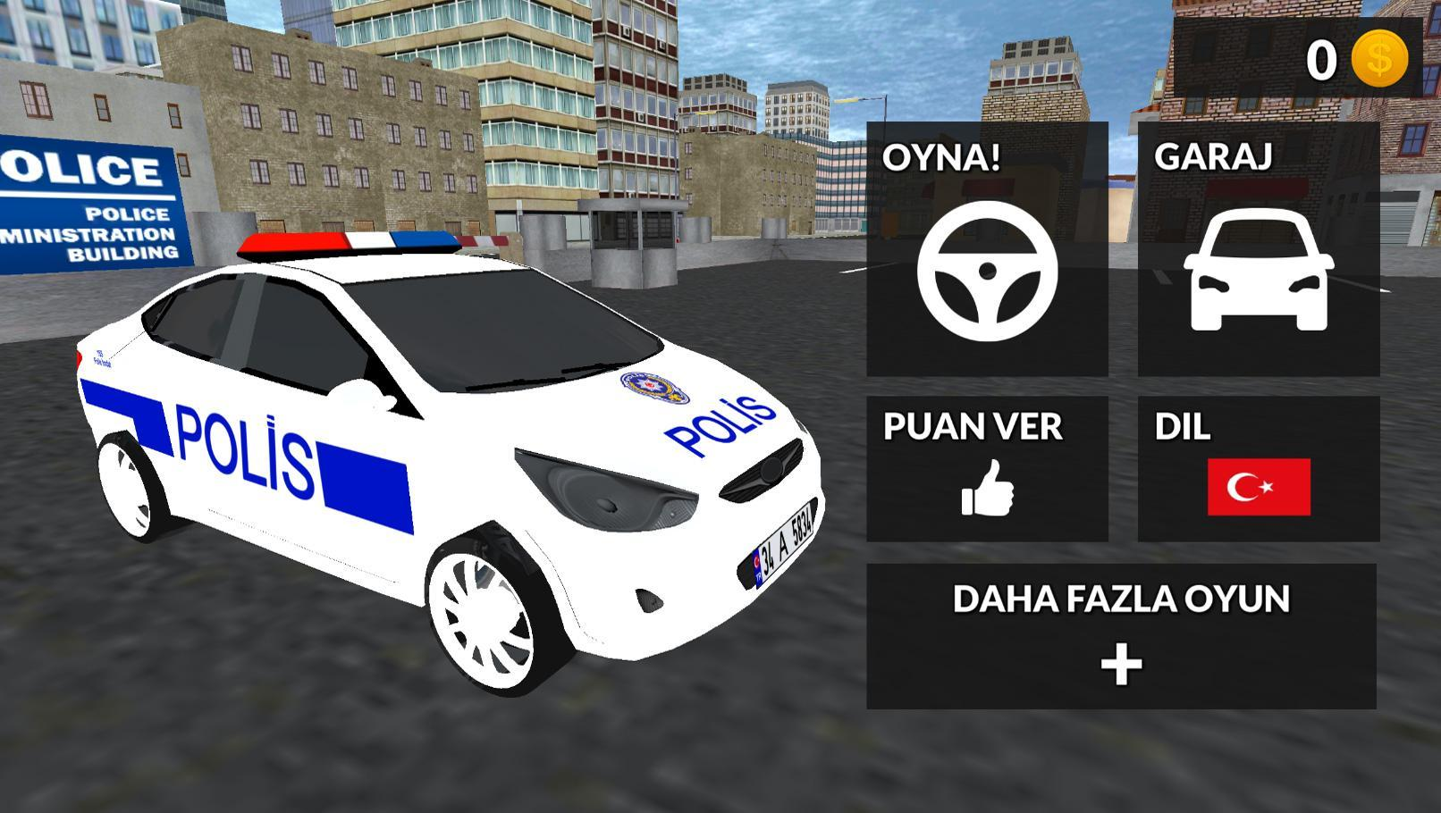 Android Icin Turk Polis Ve Araba Oyunu Simulatoru 3d Apk Yi Indir