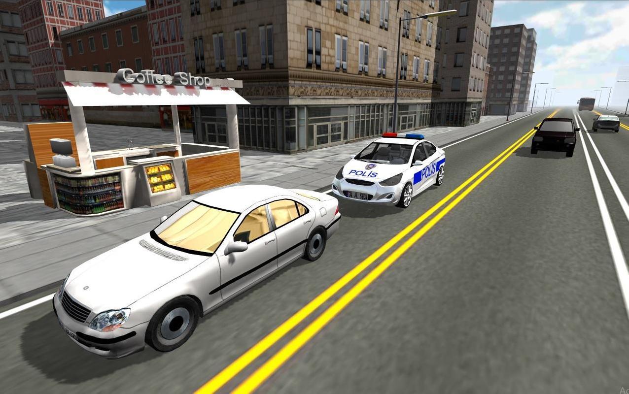 polizei und auto spiel simulator 3d screenshot 1