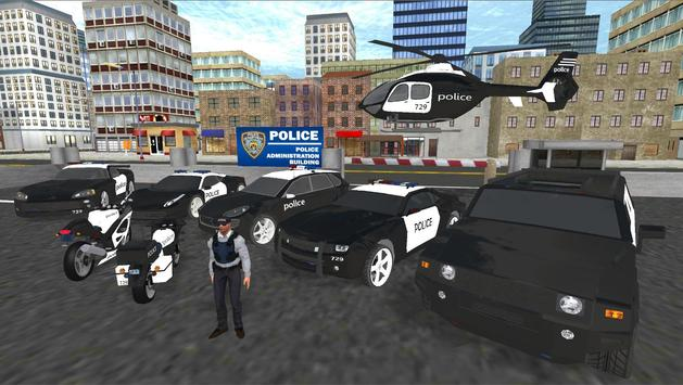 Real Police Car Driving screenshot 2