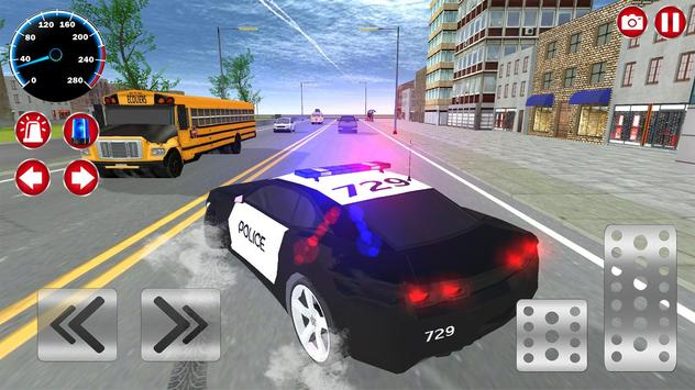Real Police Car Driving screenshot 5
