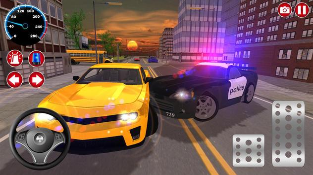 Real Police Car Driving screenshot 8
