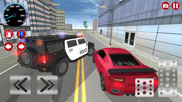 Real Police Car Driving screenshot 9
