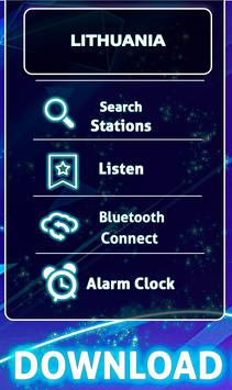 Free Radio Lithuania: Offline Stations screenshot 1