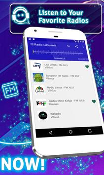 Free Radio Lithuania: Offline Stations screenshot 2
