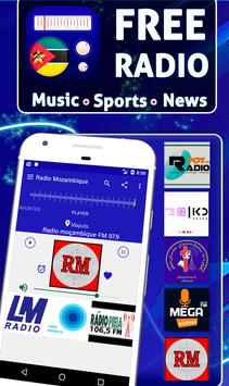 Free Radio Mozambique: Offline Stations poster