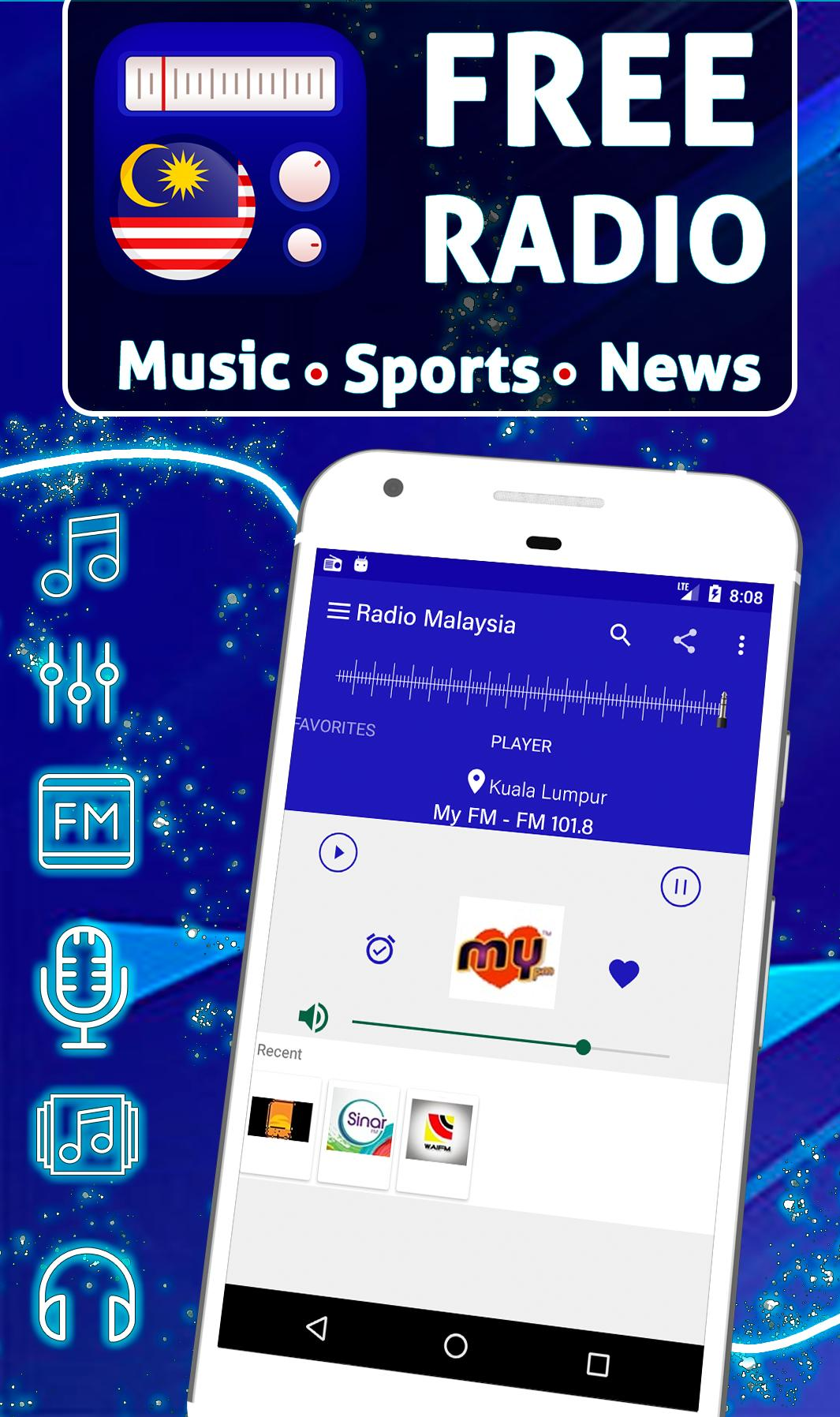 Free Radio Malaysia Offline Stations For Android Apk Download