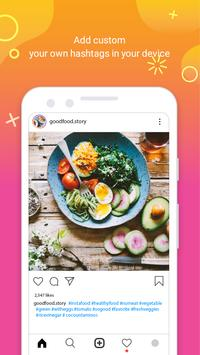HashTags for Instagram - Get Followers & Like 2019 poster