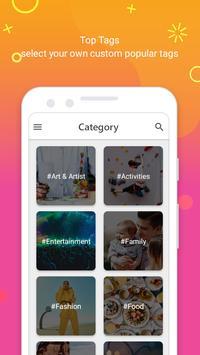HashTags for Instagram - Get Followers & Like 2019 screenshot 1