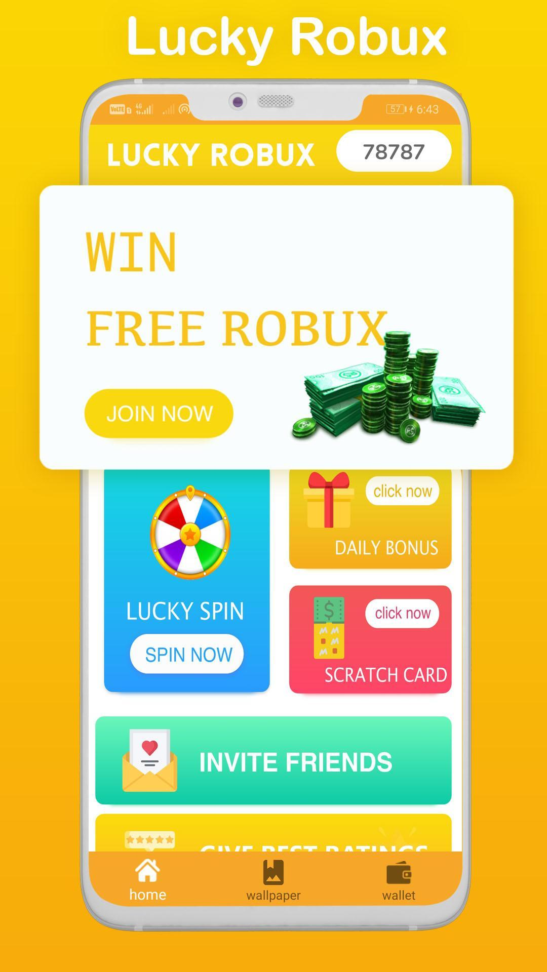 Free Robux Code Generator Prank For Android Apk Download Lucky Robux For Android Apk Download
