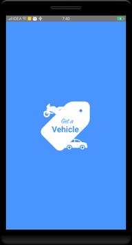 Get a Vehicle poster