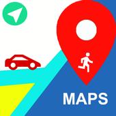 Maps directions - aa Router Finder & Findnear Zeichen