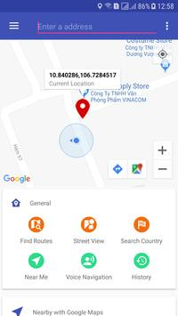 Maps directions - aa Router Finder & Findnear Screenshot 7