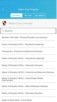 William Carey University Admission Coach - Emma screenshot 2