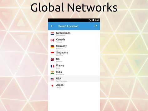 Free VPN Unlimited Proxy By FishVPN screenshot 5