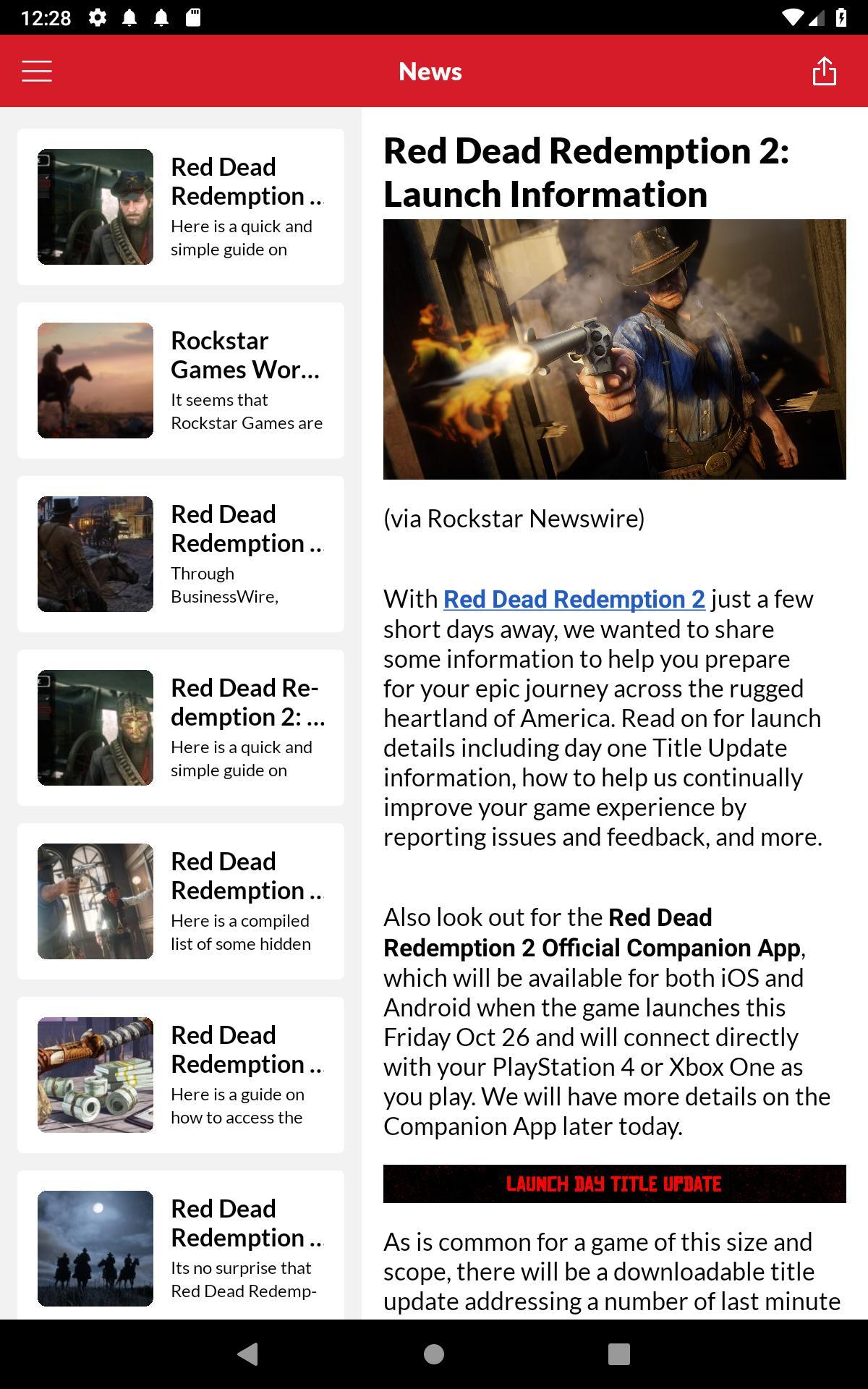 Rdr2 Companion App