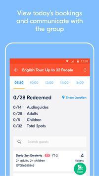 GetYourGuide Supplier Ekran Görüntüsü 2