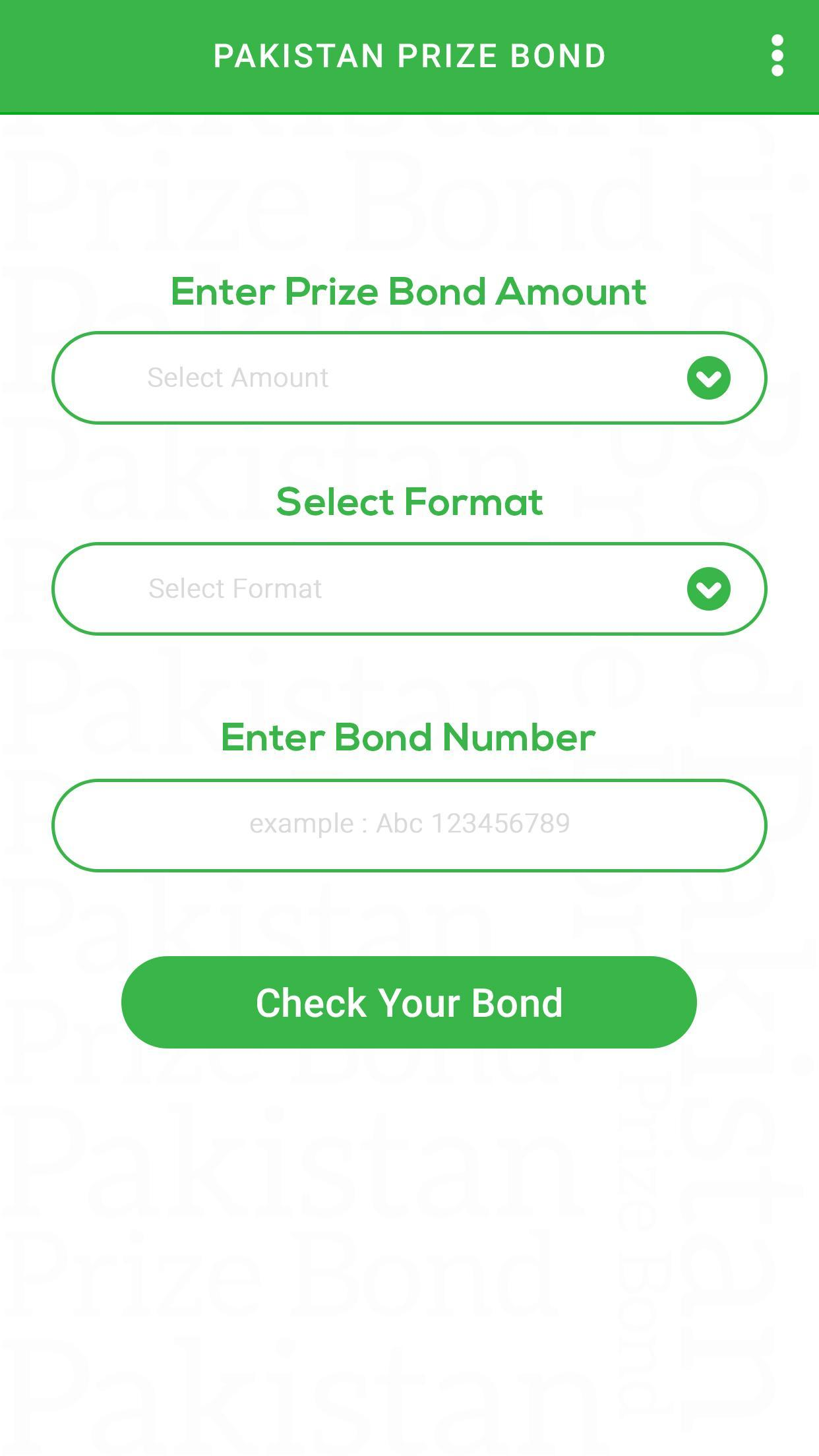 Pakistan Prize Bond for Android - APK Download