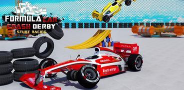 Formula Car Derby Demolition Crash Stunts 2020