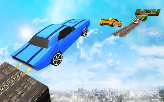 Impossible Car Driving 2019 New Car Stunt Games 3d screenshot 3