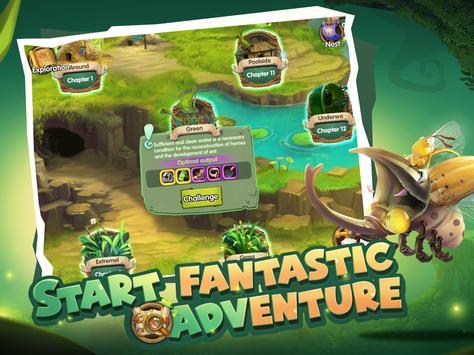 Tales of Bugs-Slingshot Action Role-playing Game ảnh chụp màn hình 9