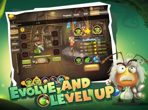 Tales of Bugs-Slingshot Action Role-playing Game ảnh chụp màn hình 12