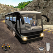 Hill Bus Racing Driving Simulator 2019 icon