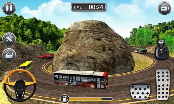 Hill Bus Racing Driving Simulator 2019 poster