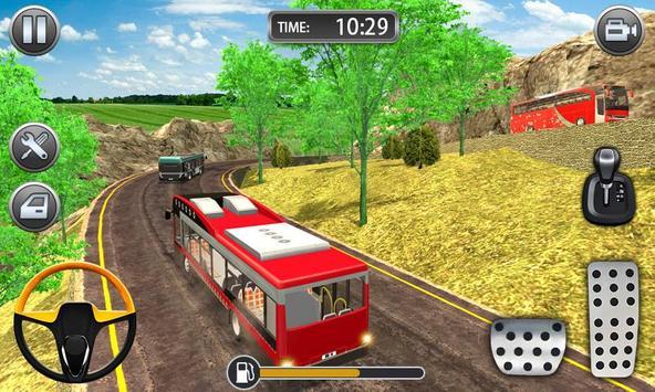 Hill Bus Racing Driving Simulator 2019 screenshot 1