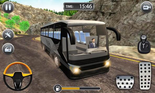Hill Bus Racing Driving Simulator 2019 screenshot 2