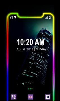 Border Light Mobile Theme 2020 पोस्टर