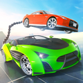 Chained Car Impossible Stunts Extreme Racer
