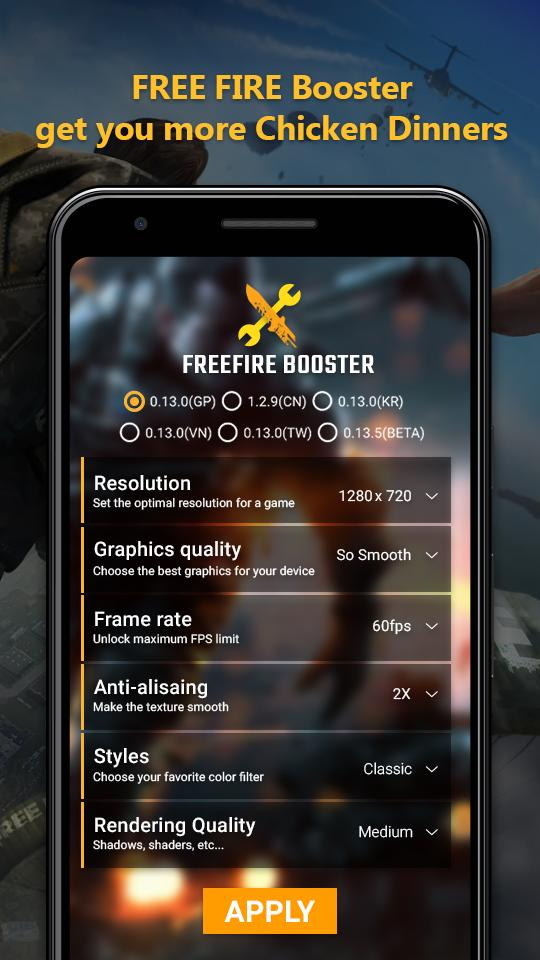 GFX Tool - Booster for Free Fire for Android - APK Download
