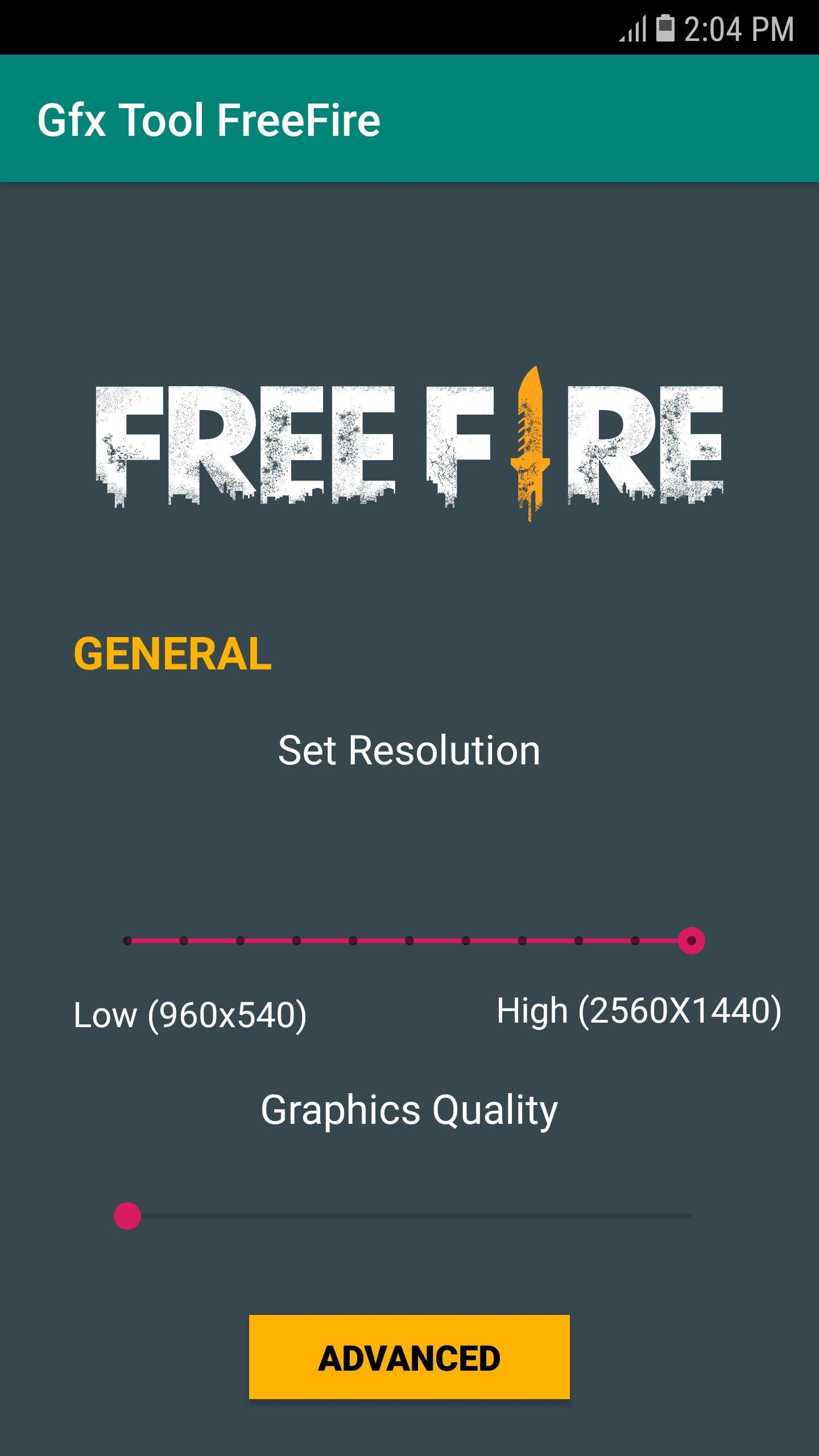 GFX Tool for FreeFire - Lag Fix for Android - APK Download
