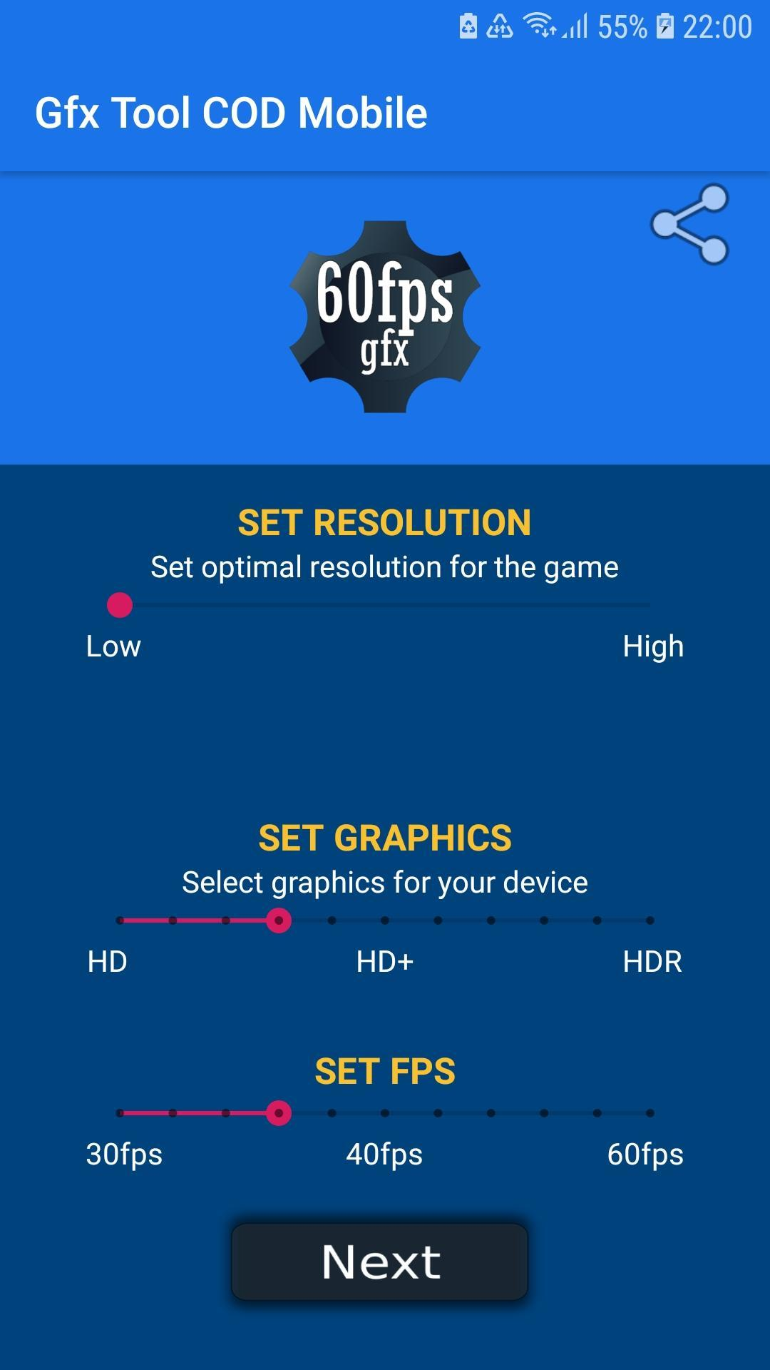 GFX Tool for COD Max fps No Ban for Android - APK Download
