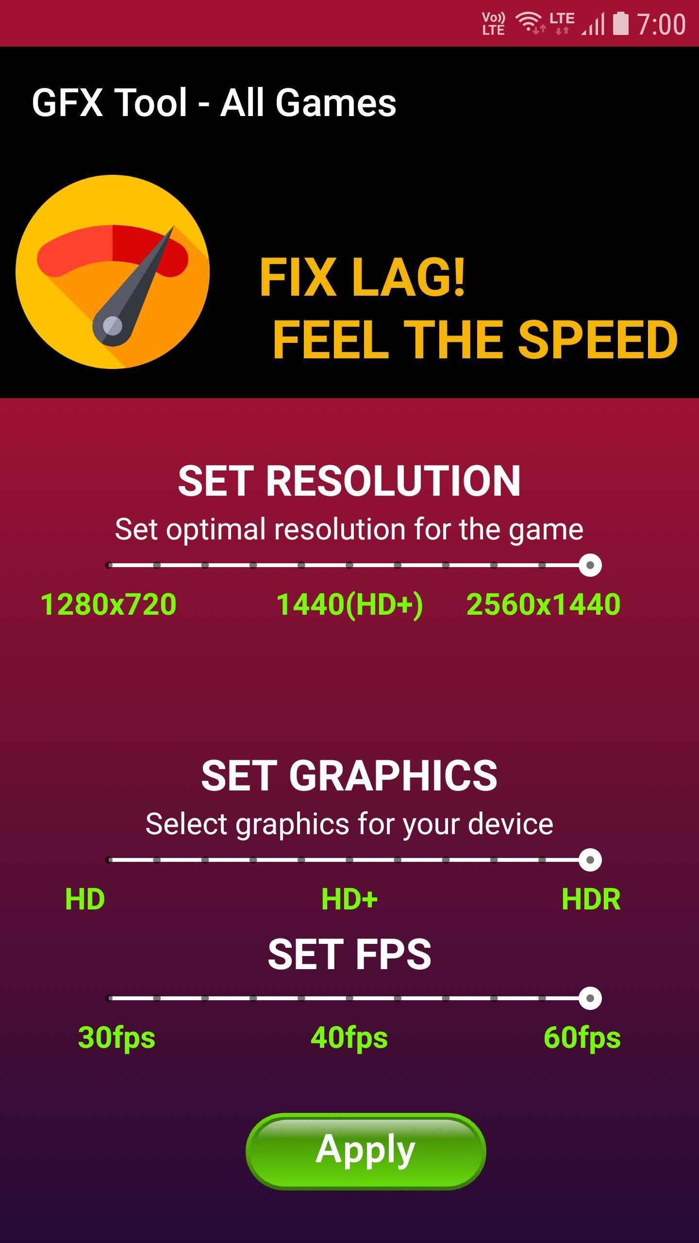 GFX Tool All Games - Lag Fixer for Android - APK Download