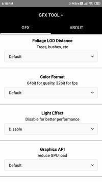 GFX Tool PRO- Game Launcher & Optimizer screenshot 3