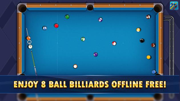 8 Pool Billiards - 8 ball pool offline game capture d'écran 3