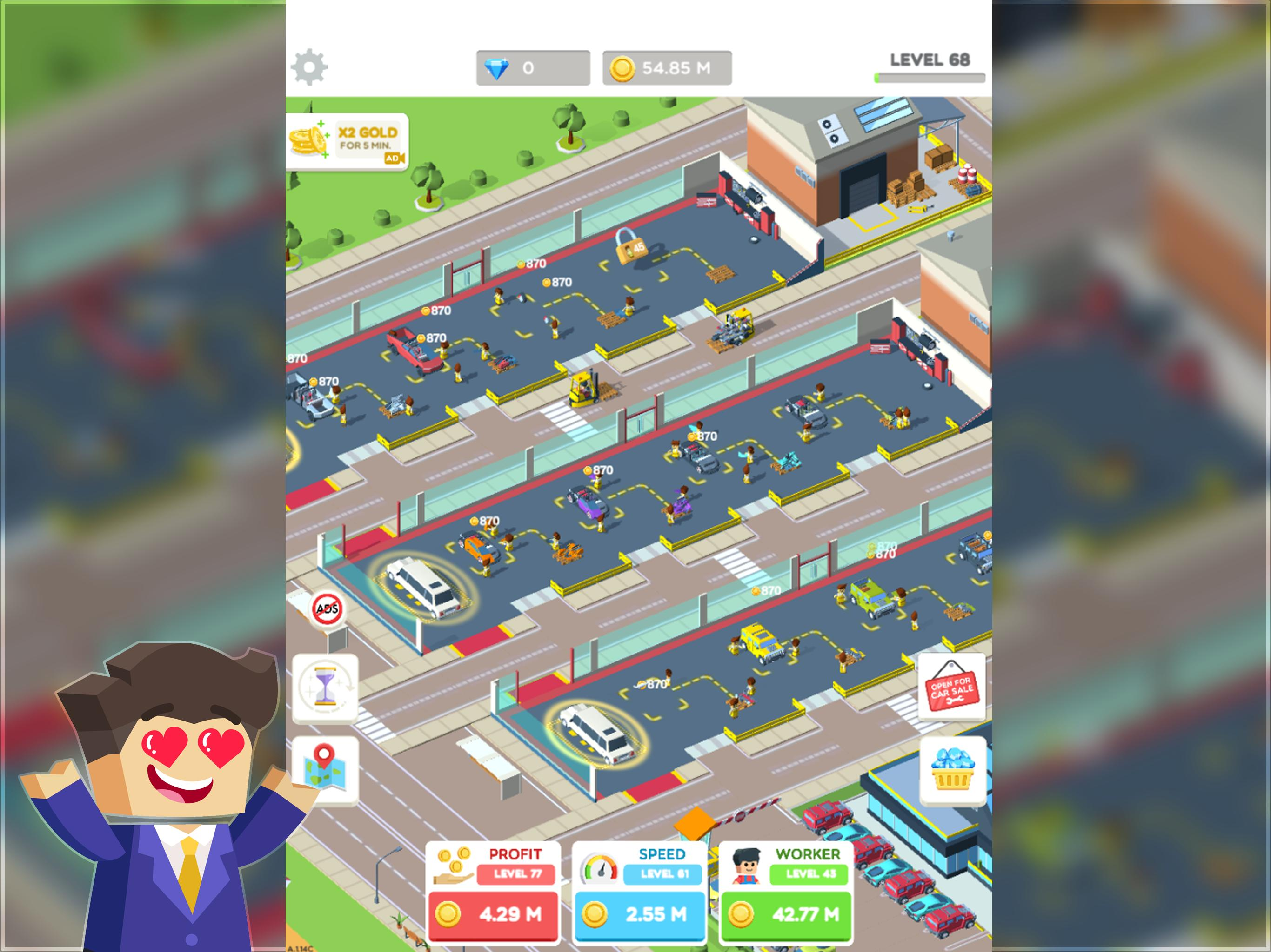 Idle Mechanics Manager Car Factory Tycoon Game For Android Apk