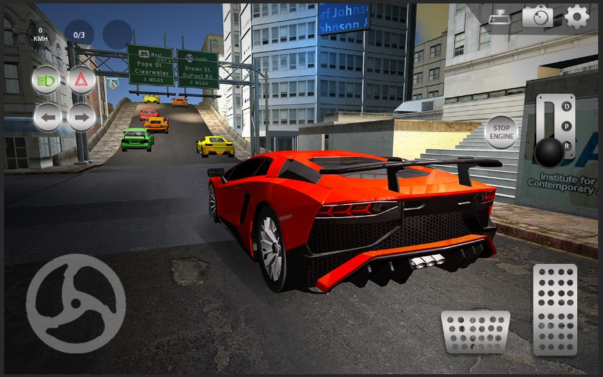 Car Driving Games >> Real Parking Car Drive Free Car Driving Games For Android