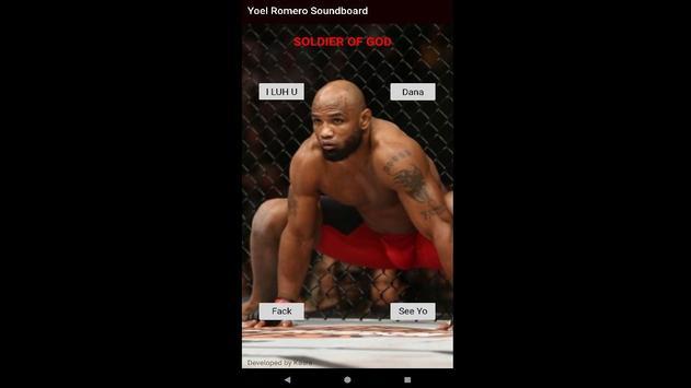 Yoel Romero - Play UFC Soundboard Buttons poster