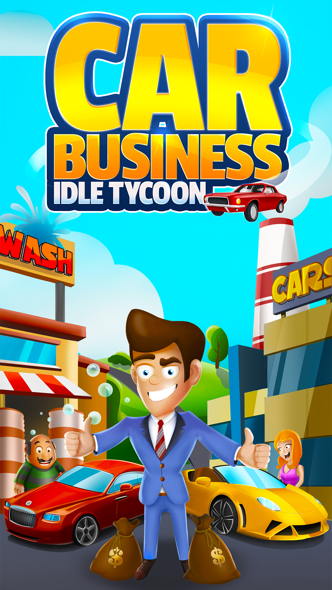 Car Business: Idle Tycoon - Idle Clicker Tycoon APK 1.1.5 ...