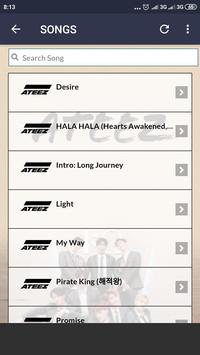 ATEEZ Lyrics for Android - APK Download