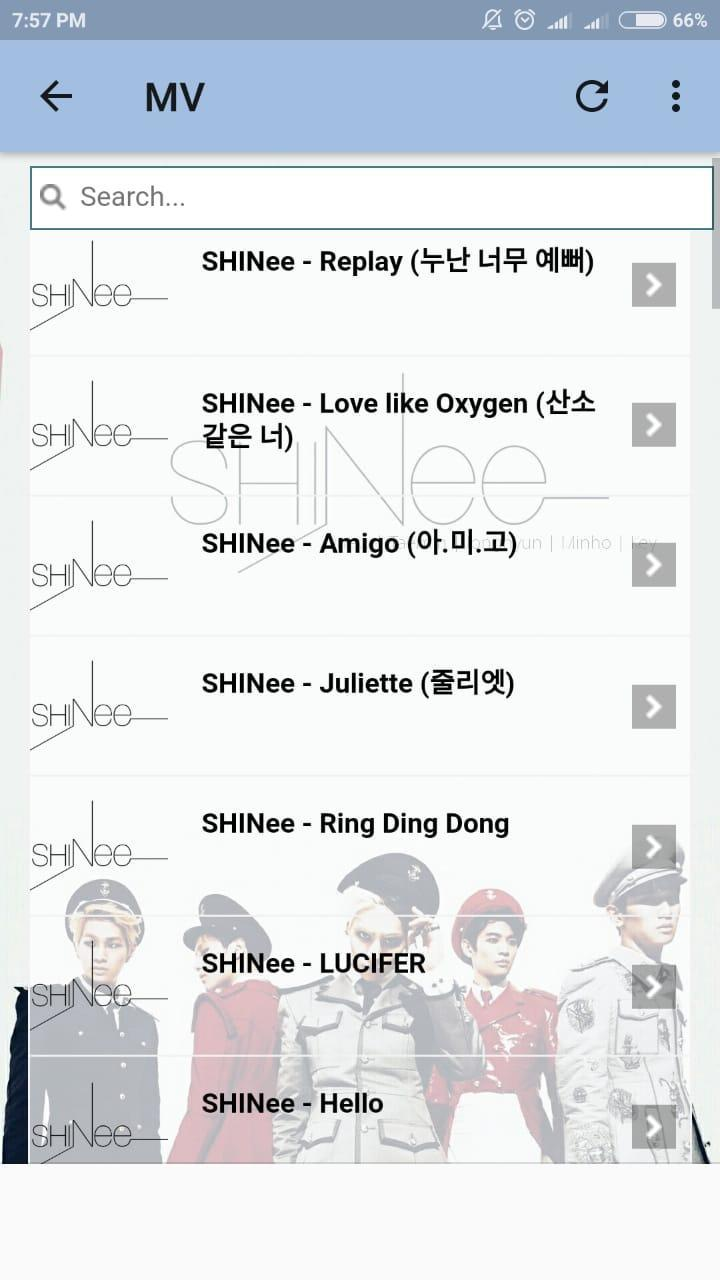 SHINee Lyrics for Android - APK Download