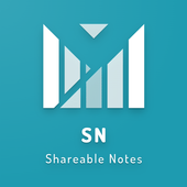 Shareable Notes icon