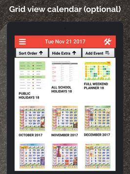 Singapore Calendar Horse 2020 screenshot 8
