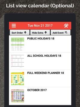 Singapore Calendar Horse 2020 screenshot 9