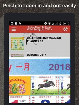 Singapore Calendar Horse 2020 screenshot 20